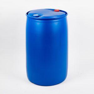 Kunststoff-Spundfass, blau, Füllvolumen 120 Ltr. und 220 Ltr.
