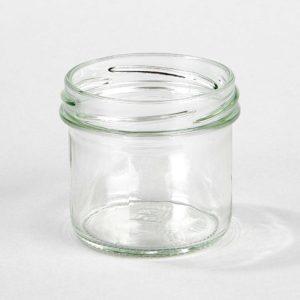 Sturzglas 125 ml, zylindrisch, Verschluss TO 66 mm