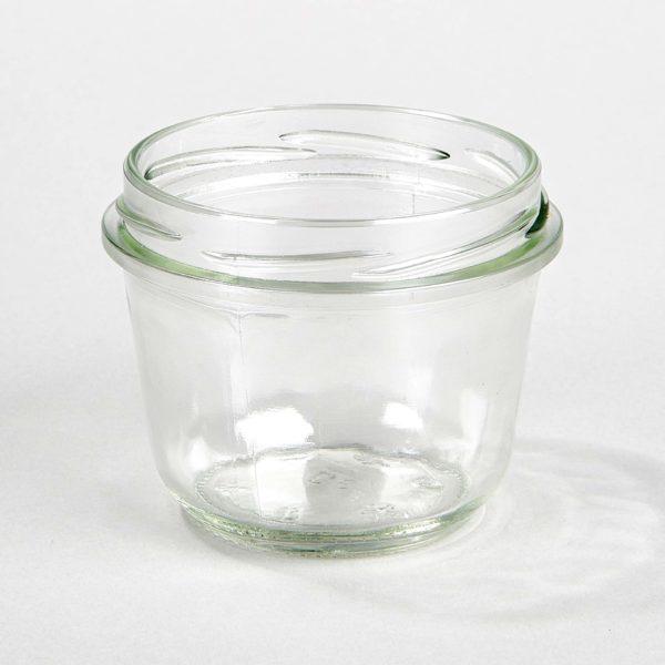 Sturzglas 230 ml, konisch, Verschluss TOTO 82 mm