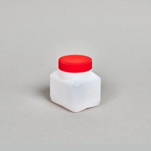 Kunststoff-Flasche, rechteckig, 250 - 1100 ml, incl. Verschraubung