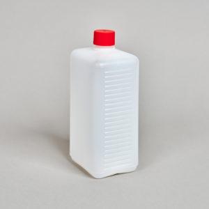 Kunststoff-Flasche, rechteckig, 500 - 2500 ml, incl. Verschraubung
