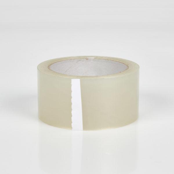 Kunststoff-Klebeband mit Glasfaserverstärkung, Rolle seitlich liegend